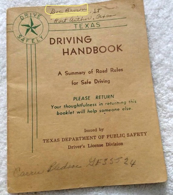TXdrivinghandbook
